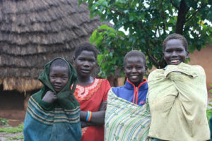 Karamajong people in Kidepo National Park
