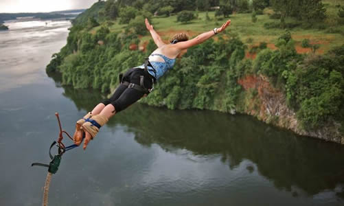 Bungee Jumping in Jinja - costs, prices and jumping height